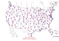 2006-06-10 Max-min Temperature Map NOAA.png