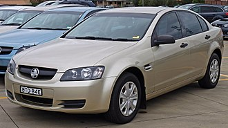 Holden Commodore (VE) - MY07 Commodore Omega sedan