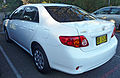2007-2009 Toyota Corolla (ZRE152R) Ascent sedan 01.jpg