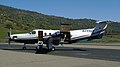 2007 Pilatus PC-12 at Mariposa Yosemite Airport photo D Ramey Logan.jpg