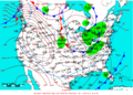 2009-01-30 Surface Weather Map NOAA.png