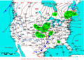 2009-04-05 Surface Weather Map NOAA.png
