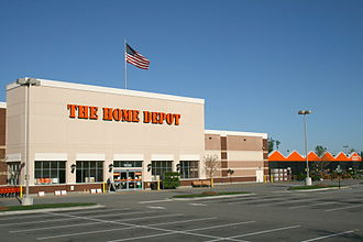 Hardware store - A typical Home Depot store in Knightdale, North Carolina.