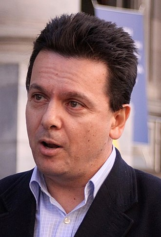 South Australian state election, 2018 - Image: 2009 07 24 Nick Xenophon speaking cropped