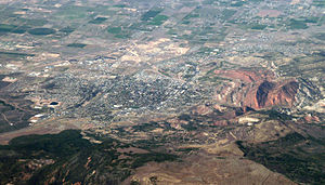Cedar City, Utah - Aerial photo of Cedar City.
