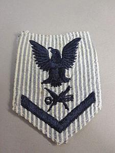 2011-213-5 Uniform, Enlisted, Female, Rating Badge,Teleman.jpg