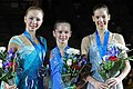 2011 Grand Prix Final Ladies Juniors podium.jpg