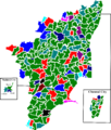 2011 tamil nadu legislative election map by parties.png