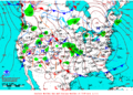 2013-01-27 Surface Weather Map NOAA.png