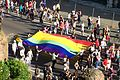 2014-06-07 Roma Pride the rainbow flag.jpg