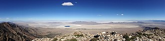 Great Salt Lake Desert - Great Salt Lake Desert as seen from Pilot Peak