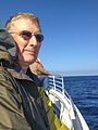 20140903 079 David on Channel Islands ferry.jpg