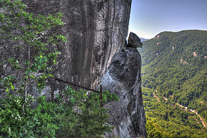 Chimney Rock State Park - Image: 2015 18 105 devils head