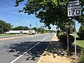 2016-08-12 12 25 40 View north along Maryland State Route 170 (Telegraph Road) at Maryland State Route 175 (Annapolis Road) in Odenton, Anne Arundel County, Maryland.jpg