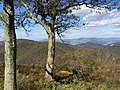 2016-10-24 12 31 37 View north-northwest from the Brown Mountain Overlook along Shenandoah National Park's Skyline Drive in Rockingham County, Virginia.jpg