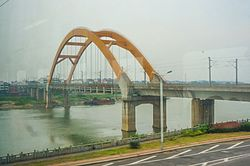 201705 Nanchang–Jiujiang Intercity Railway Yongxiu Bridge.jpg