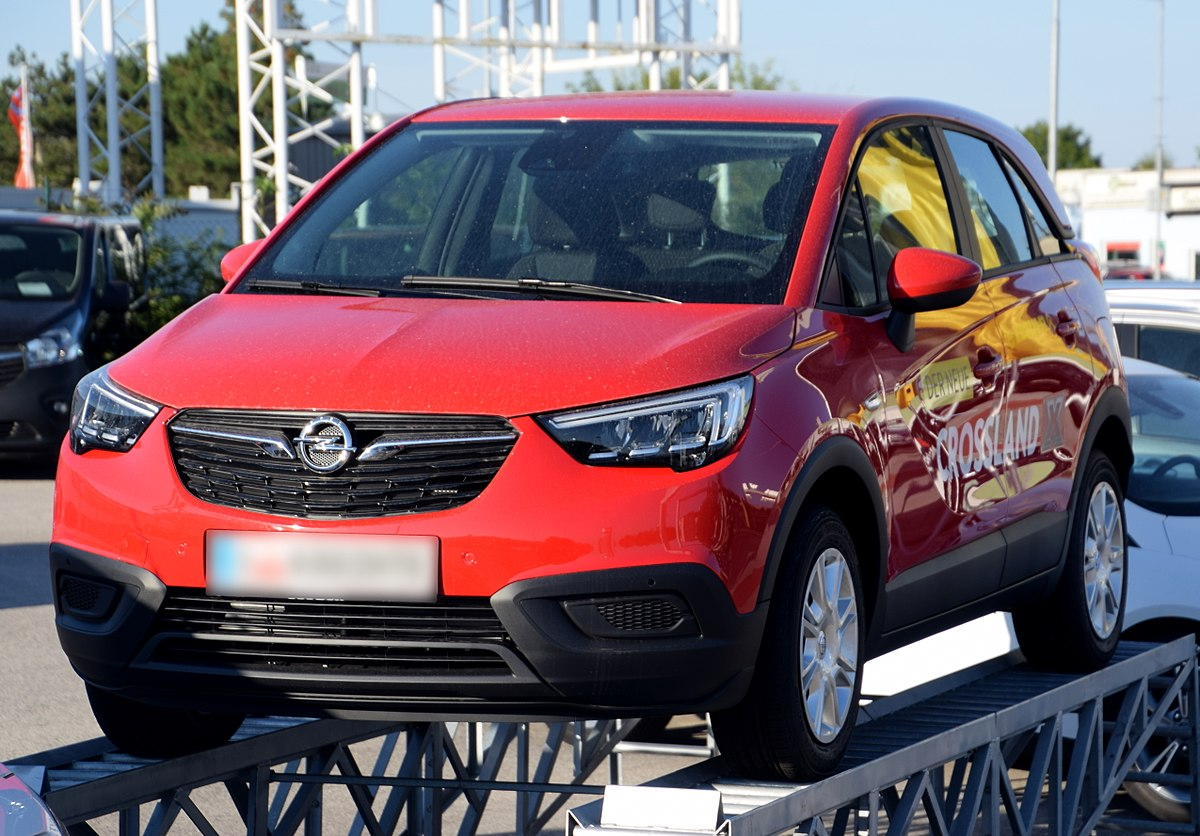 Px Opel Crossland X Front Red Crop