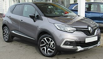 Crossover (automobile) - 2017 Renault Captur