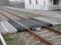 2018-02-13 (607) Pedestrian level crossing by Strail at Bahnhof Mauthausen.jpg