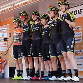 De ploeg in de Boels Ladies Tour 2019