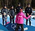 2020-01-15 Biathlon at the 2020 Winter Youth Olympics – Mixed Relay – Mascot Ceremony (Martin Rulsch) 39.jpg
