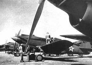 4th Composite Group - 20th Pursuit Squadron Curtiss P-40B Warhawks Nichols Field, Luzon, 1941