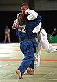 231000 - Judo Anthony Clarke fights Ian Rose - 3b - Sydney 2000 match photo.jpg