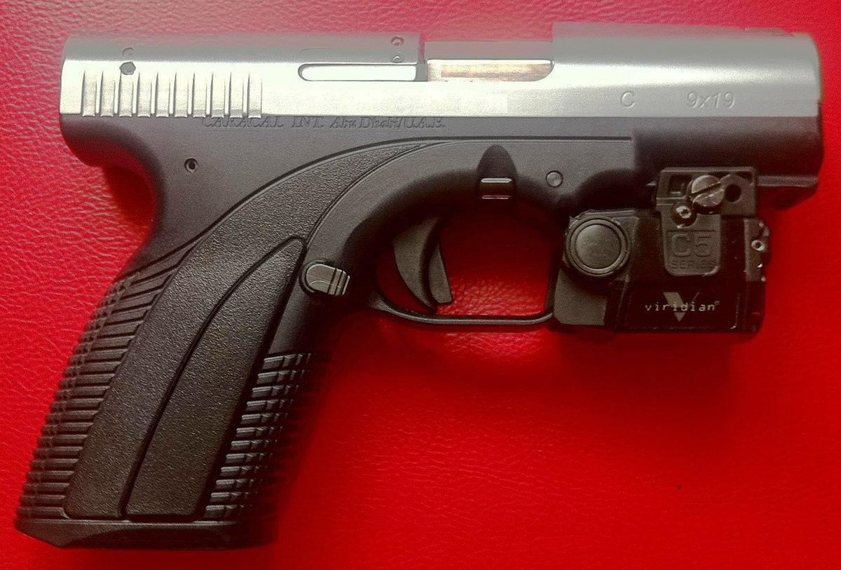 Foto de pistola caracal 49