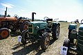 3ème Salon des tracteurs anciens - Moulin de Chiblins - 18082013 - Tracteur MAN 4L1 - 1960 - gauche.jpg