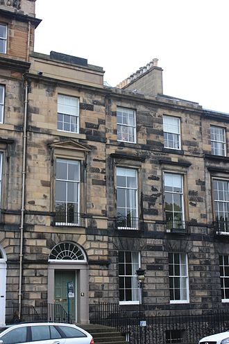 James Ferguson (Scottish politician) - 30 Heriot Row, Edinburgh