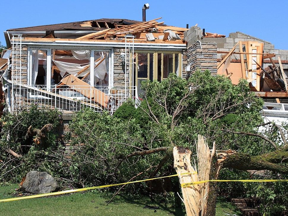 34 houston rd woodbridge tornado damage