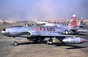 36th Fighter-Bomber Squadron Lockheed F-80C-10-LO Shooting Star 49-689.jpg