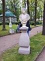 4219. Peterhof. Bust of an unknown woman.jpg