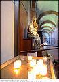 4333 Milano - Abbazia di Chiaravalle - statua della Madonna con Bambino - Foto Maurizio OM Ongaro, 30-Giu-2014 copia.jpg