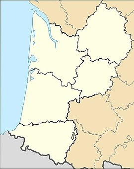 Ladaux is located in Aquitaine