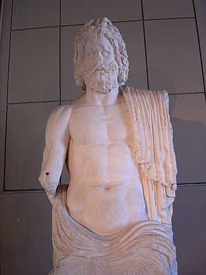 History of Gaza - Statue of Zeus unearthed in Gaza