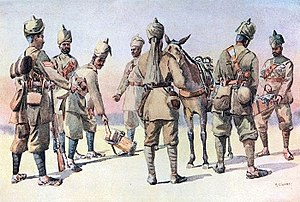 46th Punjabis - Image: 46th & 33rd Punjabis 1910