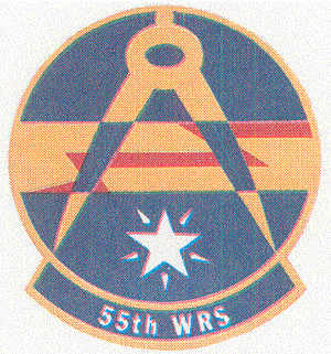 55th Space Weather Squadron - Image: 55 Weather Reconnaissance Sq emblem