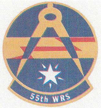 55th Space Weather Squadron - Image: 55 Weather Reconnaissance Sq emblem