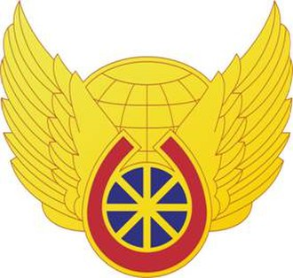 3rd Chemical Brigade (United States) - Image: 58Trans Bn DUI