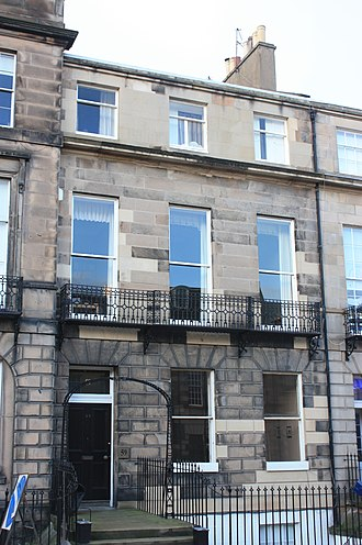 David Welsh - Welsh's townhouse at 59 Melville Street, Edinburgh