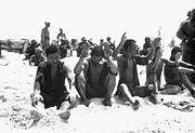 5 Japanese POWs on Tarawa