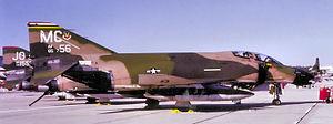 63d Fighter Squadron - 63d TFTS F-4D-28-MC Phantom 65-0756, 1979