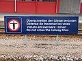 6543 - Stansstad - Pedestrian crossing prohibition.JPG