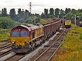 66131 and 66614 Castleton East Junction.jpg