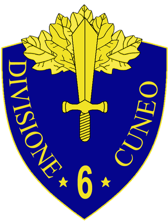 6th Infantry Division Cuneo - 6th Infantry Division Cuneo Insignia