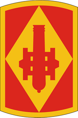 III Corps (United States) - Image: 75Fires Bde SSI