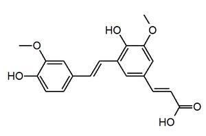 Decarboxylated 8,5'-diferulic acid