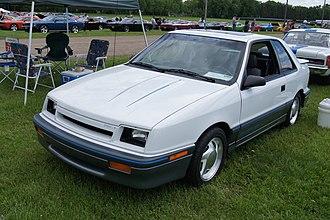 Shelby CSX - 1988 Shelby CSX-T