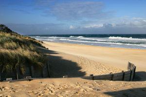 Ninety Mile Beach in Australia.